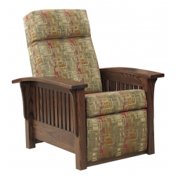 Mission Wallhugger/Pushback Petite Recliner