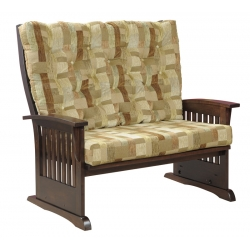 Deluxe Mission Love Seat