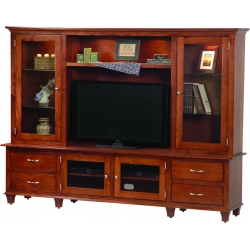 Bourten Hutch Wall Unit