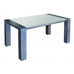 Hudson Glass Top Table
