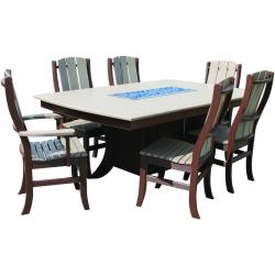 Paradise Rectangular Dining Table Set