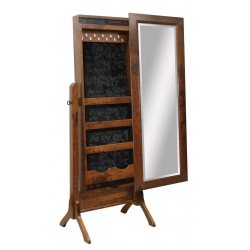 "Brooklyn Shaker Mirror - 53"" Jewelry Cheval"