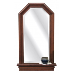 Entry Mirror with Octagon Top