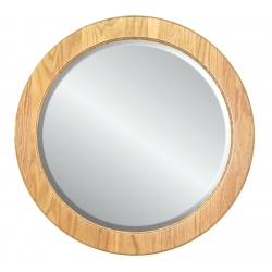 Large Round Wall Mirror