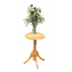 "25"" Rope Twist Plant Stand"