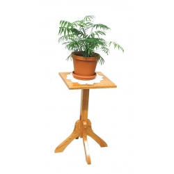 "25"" Mission Plant Stand"