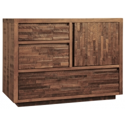 Ledgerock 3 Drawer - 1 Door Chest