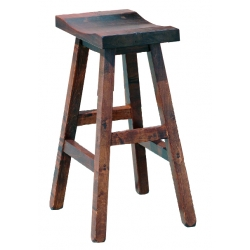 "30"" Saddle Stool with Splined Seat"