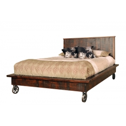 Steam Punk Platform Bed