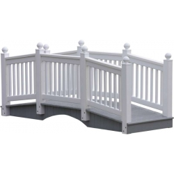 10' Vinyl Bridge (White)