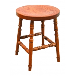 "18"" Fancy Leg Stool"