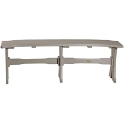 """Poly 52"""" Table Bench"""