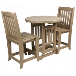 "33"" Round Counter Table Set"