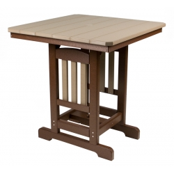 "44"" Square Bar Table"