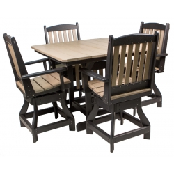 "44"" Counter Height Table Set"