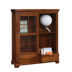 Abbie Sliding Door Bookcase