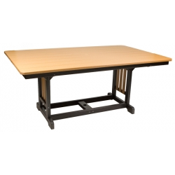 "44"" x 72"" Rectangular Table - Dining Height"