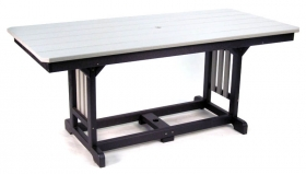 "33"" x 72"" Rectangular Table - Dining Height"