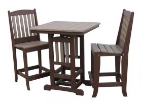 """33"""" Square Bar Table Set"""