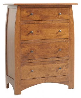 """Bordeaux 38"""" Chest of Drawers"""