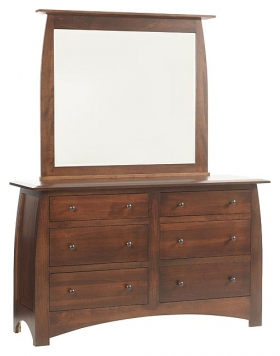 "Bordeaux 62"" Low Dresser"