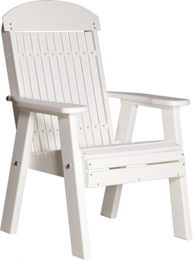 2' Poly Classic Highback Chair/Bench